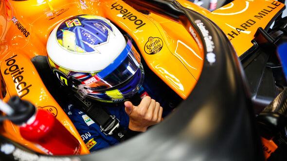 Lando Norris - McLaren - GP England - Silverstone - Freitag - 12.7.2019
