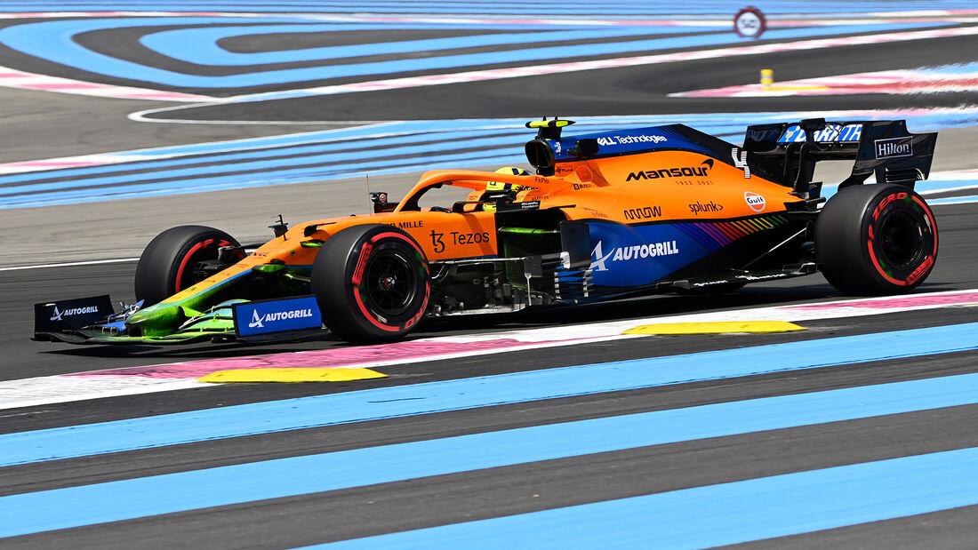Lando Norris - McLaren - GP Frankreich - Le Castellet - Paul Ricard Circuit - 18. Juni 2021