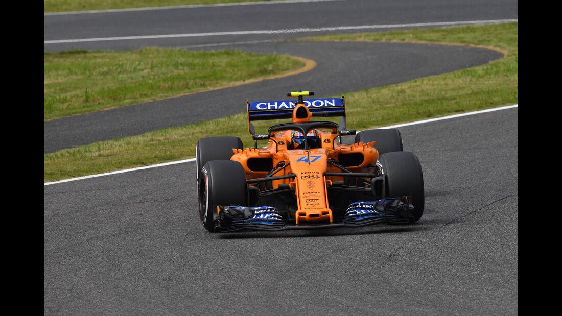 Lando Norris - McLaren - GP Japan - Suzuka - Formel 1 - Freitag - 5.10.2018