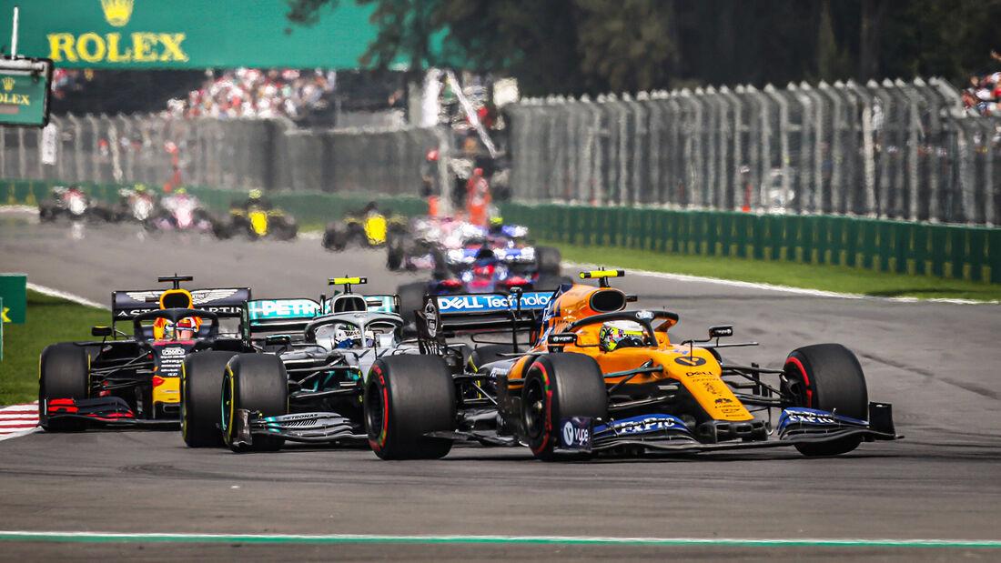Lando Norris - McLaren - GP Mexiko 2019