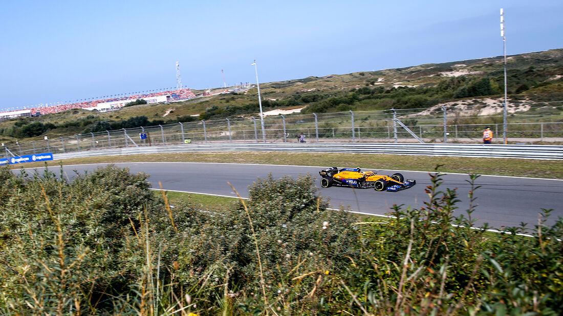 Lando Norris - McLaren - GP Niederlande - Zandvoort - Formel 1 - 3. September 2021