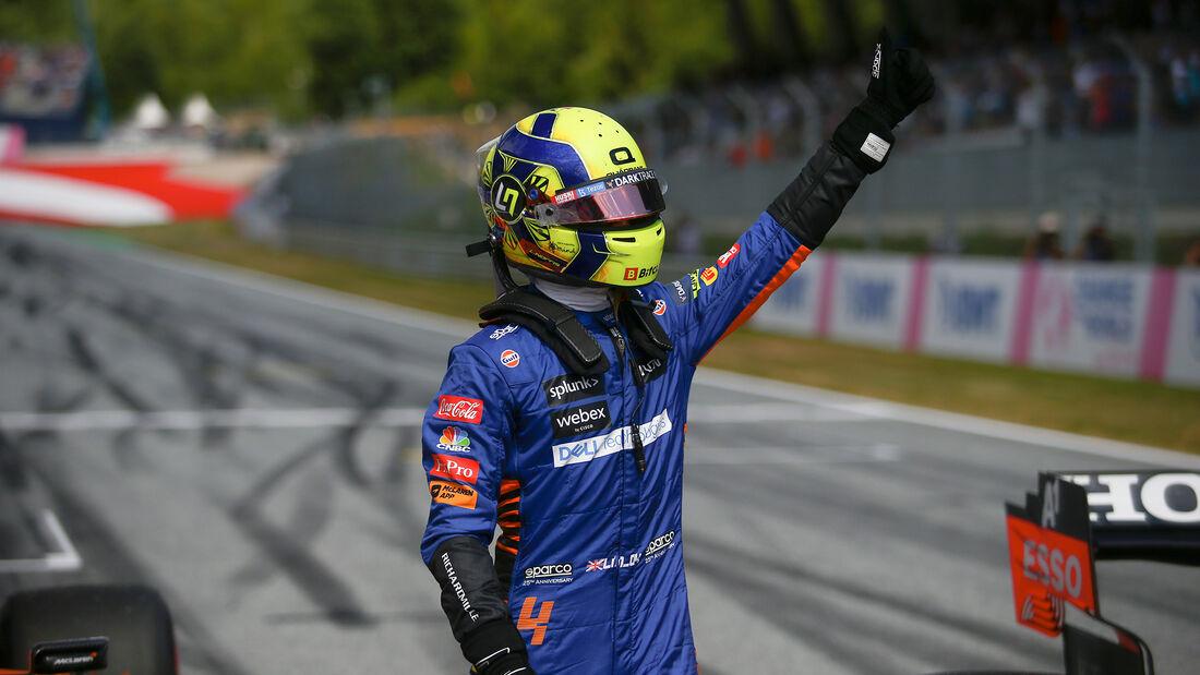 Lando Norris - McLaren - GP Österreich 2021 - Spielberg