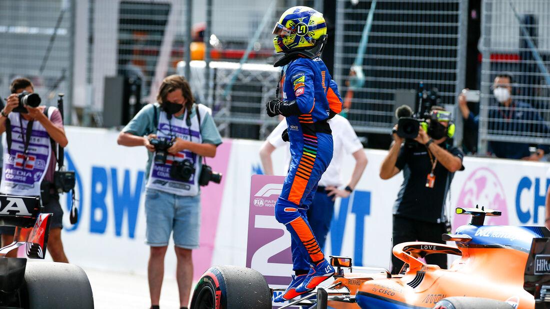 Lando Norris - McLaren - GP Österreich 2021 - Spielberg - Qualifikation
