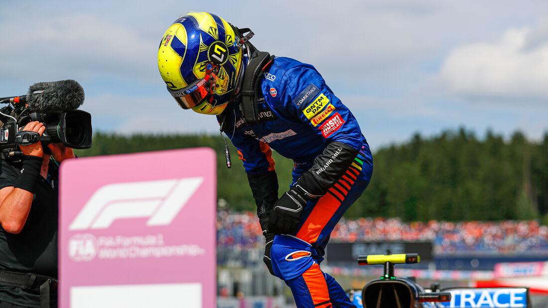 Lando Norris - McLaren - GP Österreich 2021 - Spielberg - Rennen