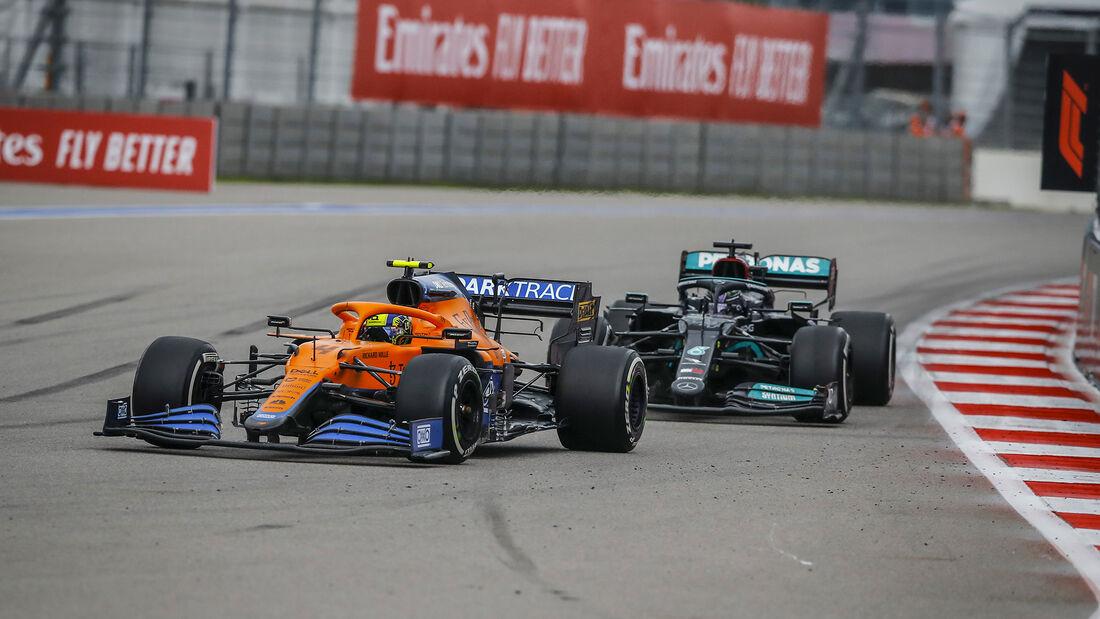 Lando Norris - McLaren - GP Russland 2021 - Sotschi