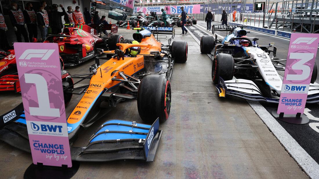 Lando Norris - McLaren - GP Russland 2021 - Sotschi - Qualifikation