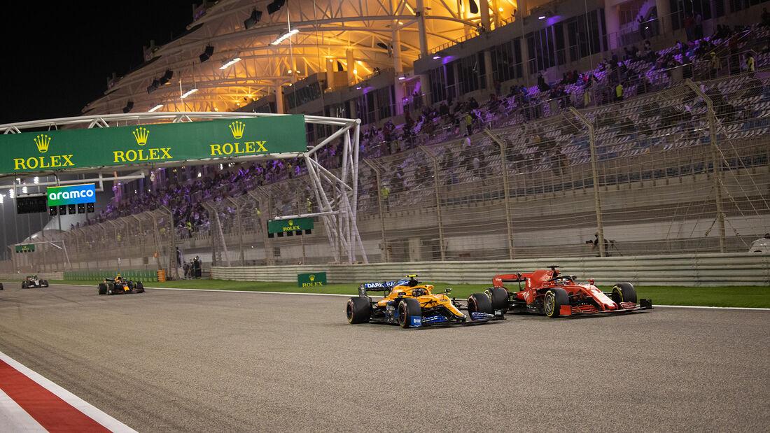Lando Norris - McLaren - GP Sakhir 2020 - Bahrain - Rennen