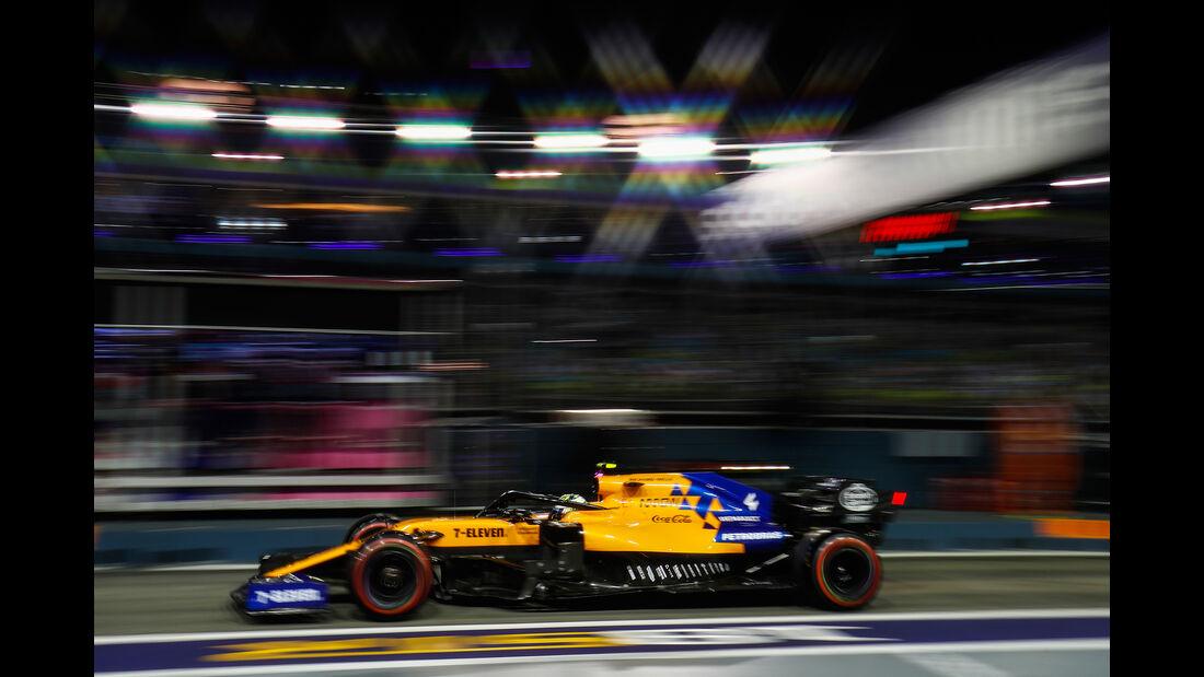 Lando Norris - McLaren - GP Singapur 2019 - Qualifying
