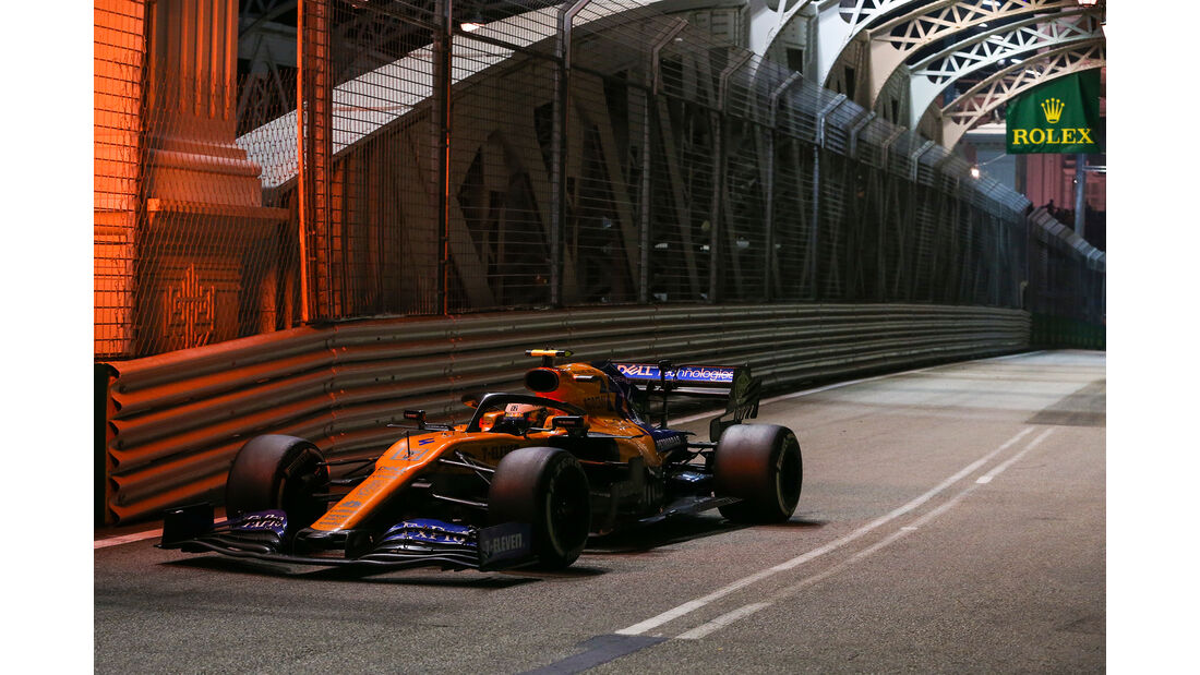 Lando Norris - McLaren - GP Singapur 2019 - Rennen