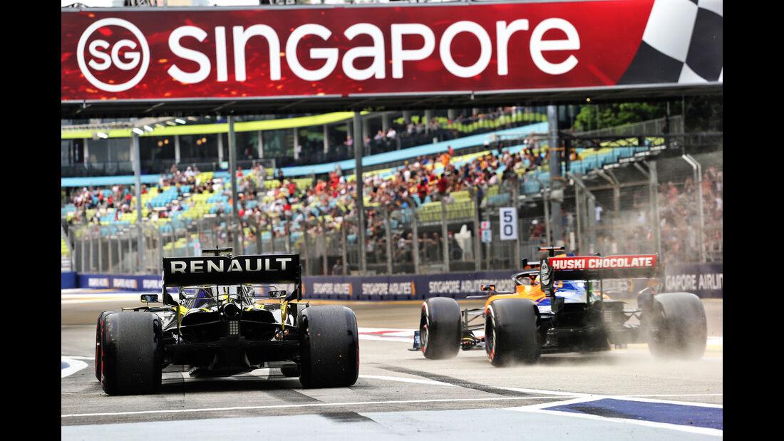 Lando Norris - McLaren - GP Singapur - Formel 1 - Freitag - 20.9.2019
