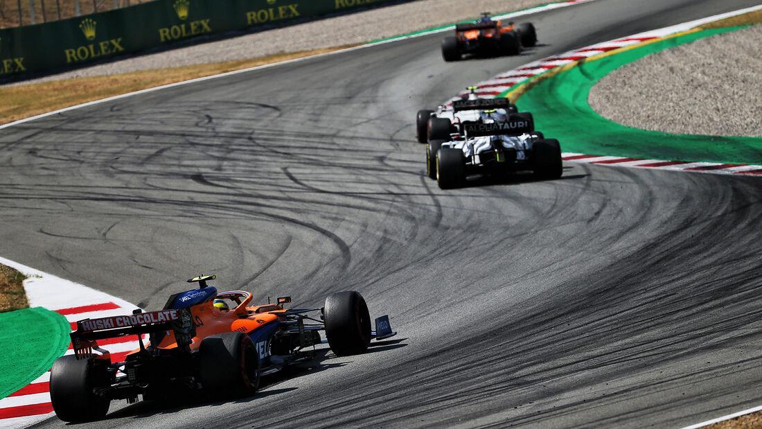 Lando Norris - McLaren - GP Spanien 2020 - Barcelona