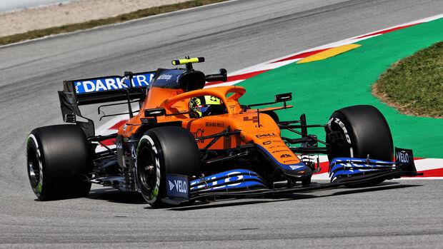 Lando Norris - McLaren - GP Spanien 2021 - Training