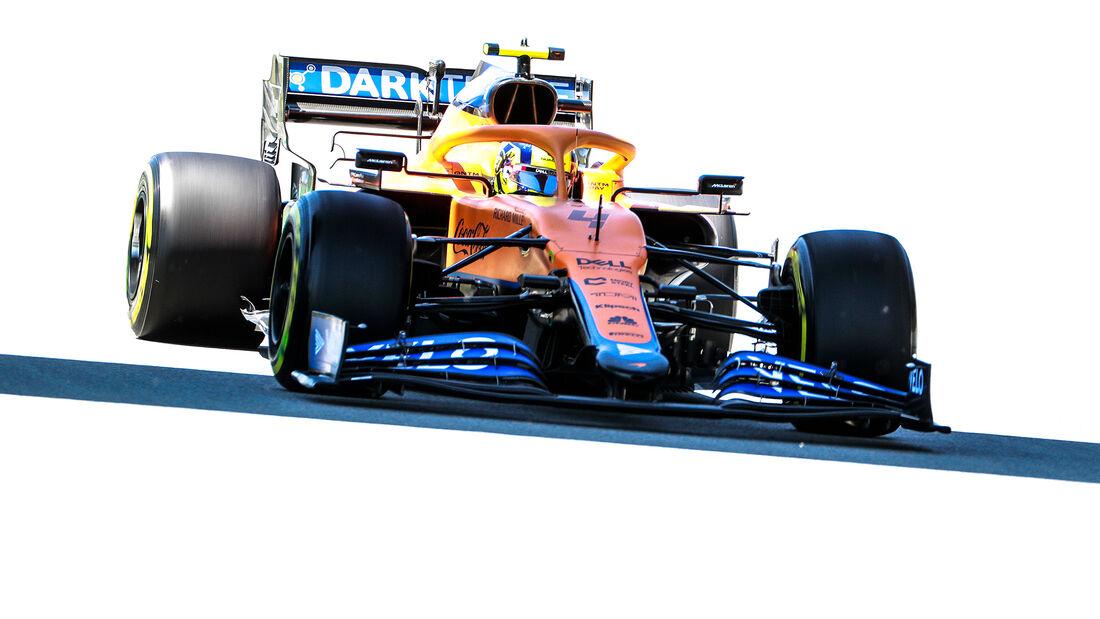 Lando Norris - McLaren - GP Spanien - Barcelona - Formel 1 - Samstag - 8.05.2021