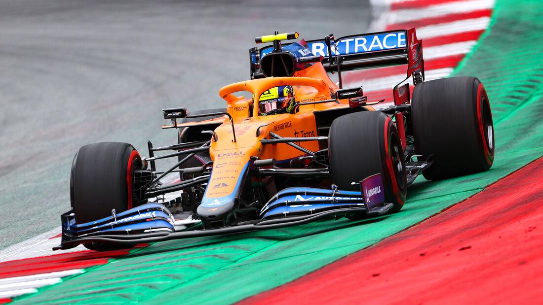 Lando Norris - McLaren - GP Steiermark 2021 - Spielberg