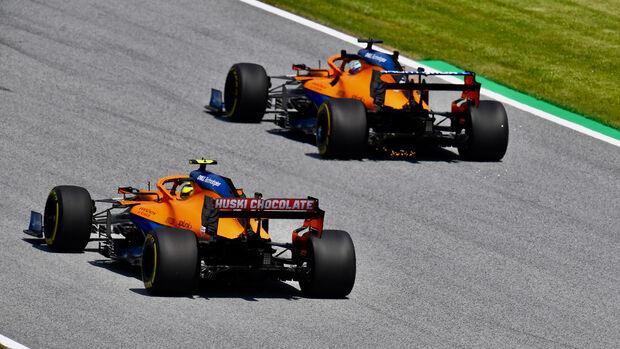 Lando Norris - McLaren - GP Steiermark - Spielberg - Formel 1 - 25. Juni 2021