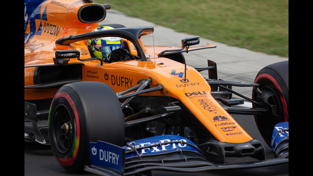 Lando Norris - McLaren - GP Ungarn 2019 - Budapest - Qualifying