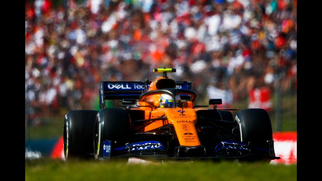 Lando Norris - McLaren - GP Ungarn 2019 - Budapest - Rennen