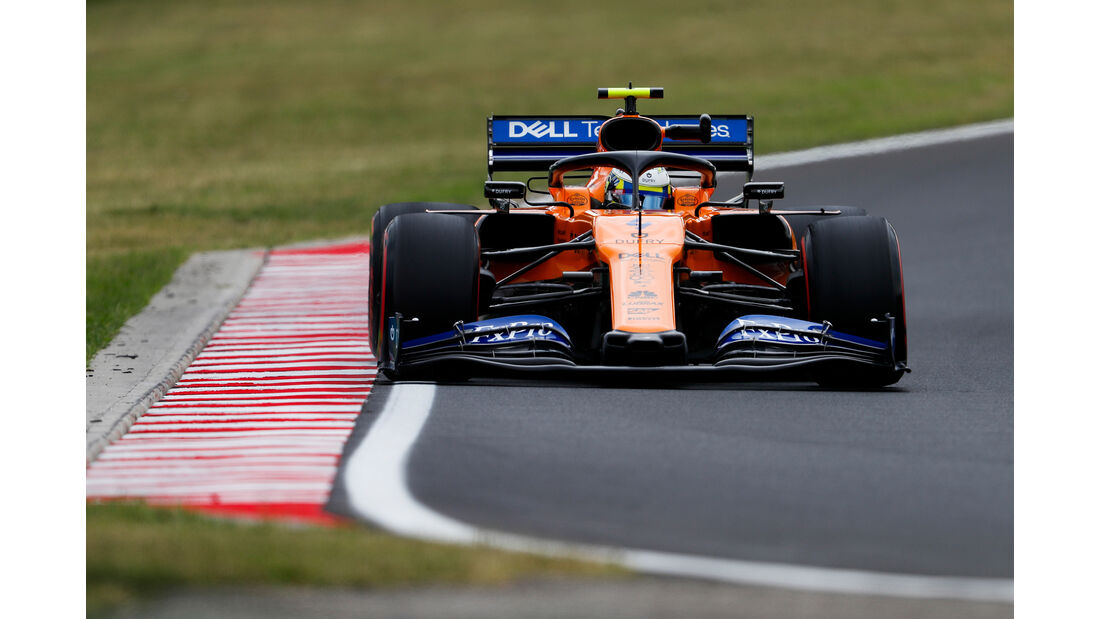 Lando Norris - McLaren - GP Ungarn - Budapest - Formel 1 - Freitag - 2.8.2019
