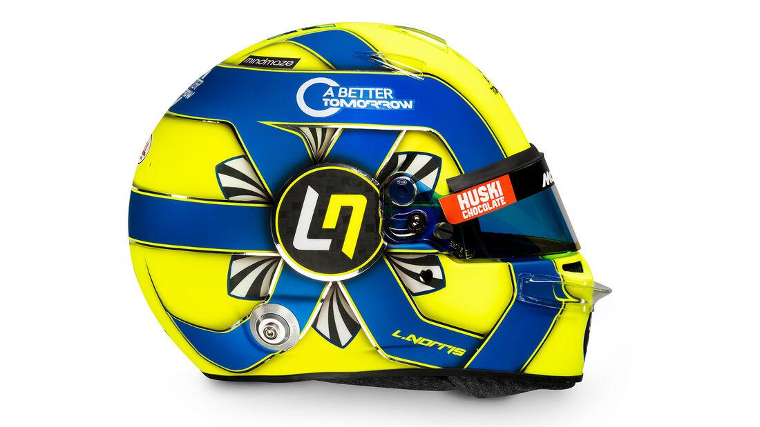 Lando Norris - McLaren - Helm - 2020