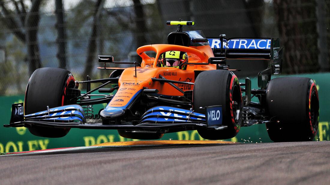 Lando Norris - McLaren - Imola - Formel 1 - GP Emilia Romagna - 17. April 2021