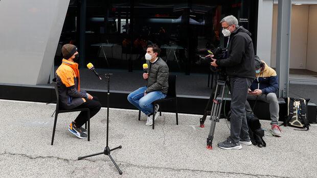 Lando Norris - RTL - GP Imola 2021
