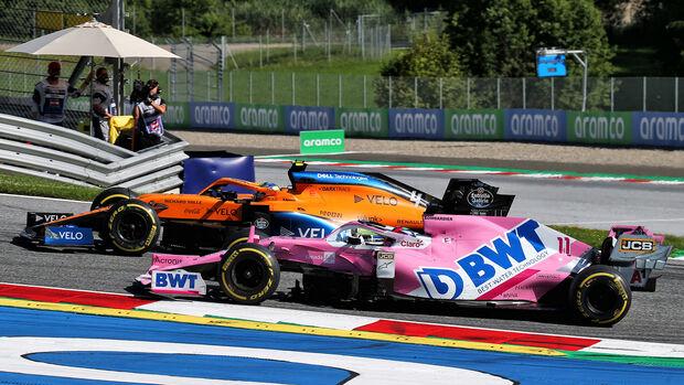 Lando Norris & Sergio Perez - Formel 1 - GP Österreich - Spielberg - 5. Juli 2020