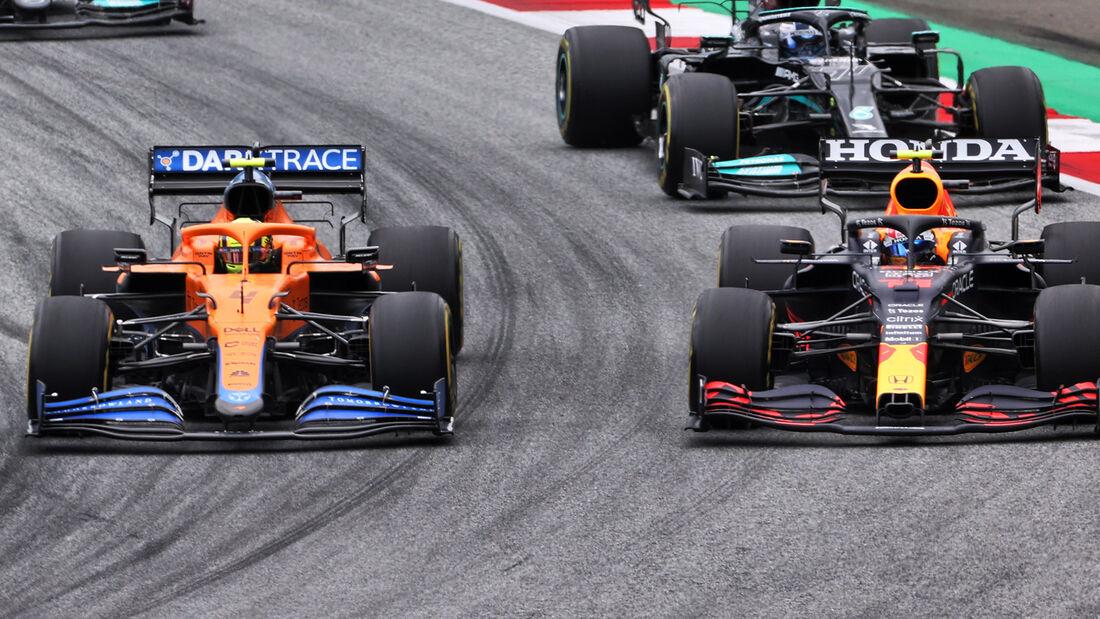 Lando Norris - Sergio Perez - GP Österreich 2021 - Spielberg