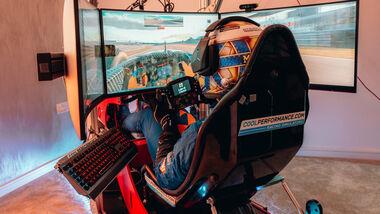 Lando Norris - Sim-Racing - 2020