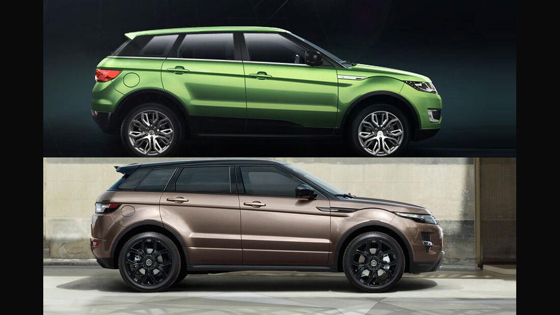 Landwind X7 Range Rover Evoque