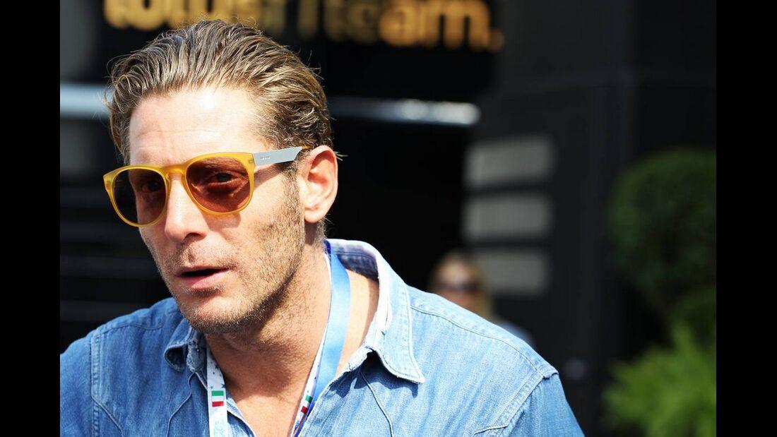 Lapo Elkann - Formel 1 - GP Italien - 08. September 2012