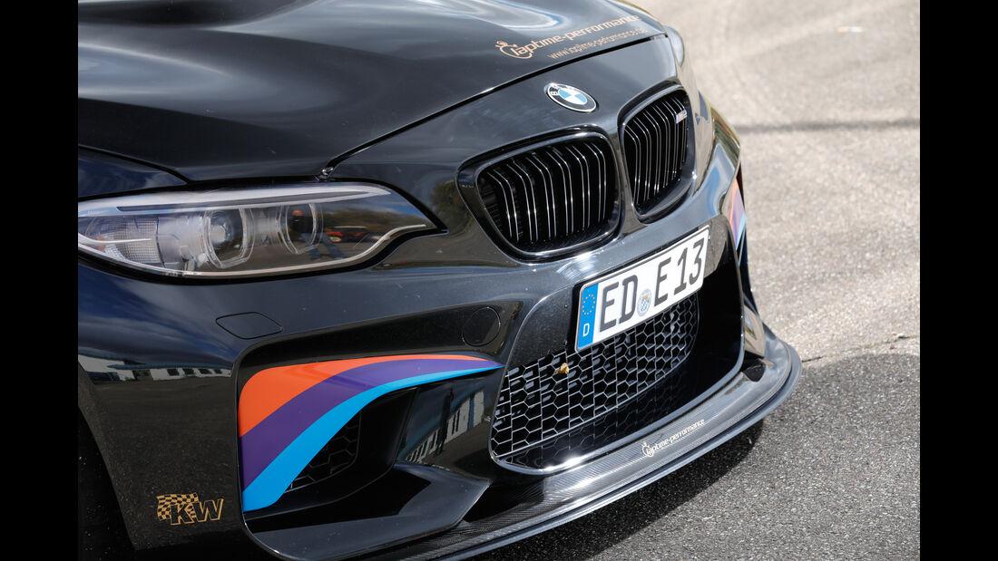 Laptime Performance-BMW M2, Front