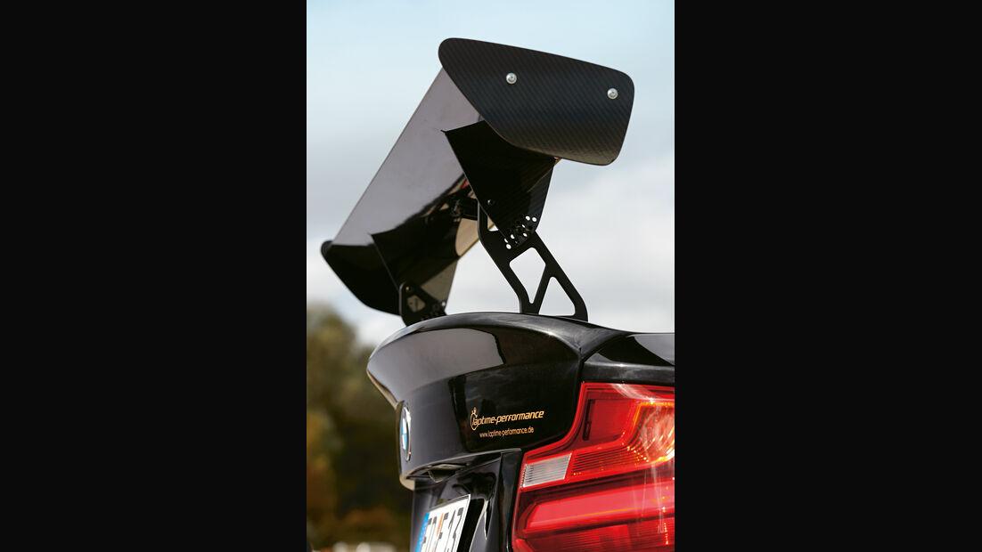 Laptime Performance-BMW M2, Heckspoiler
