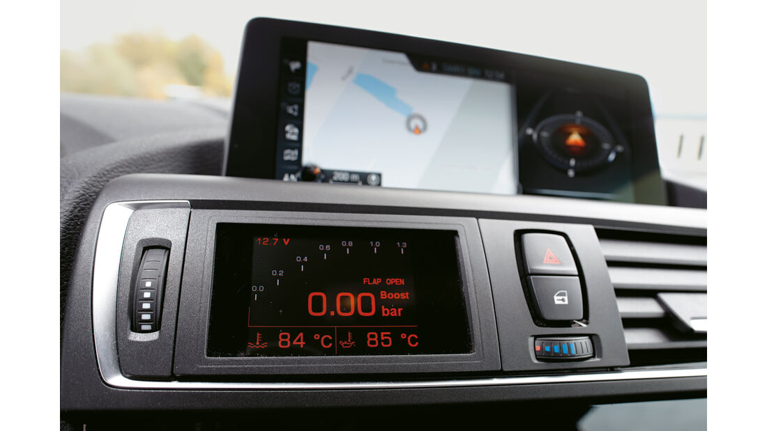 Laptime Performance-BMW M2, Monitor