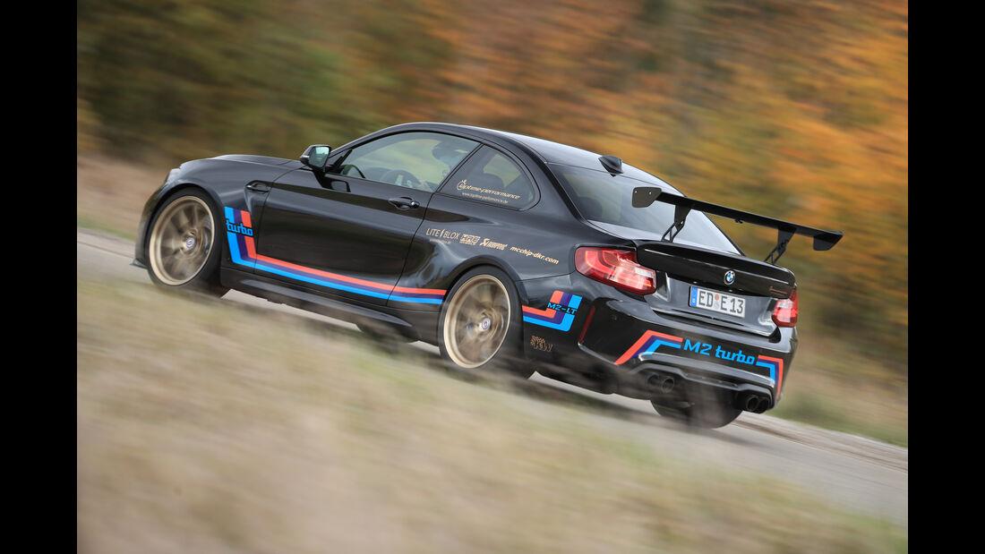 Laptime Performance-BMW M2, Seitenansicht