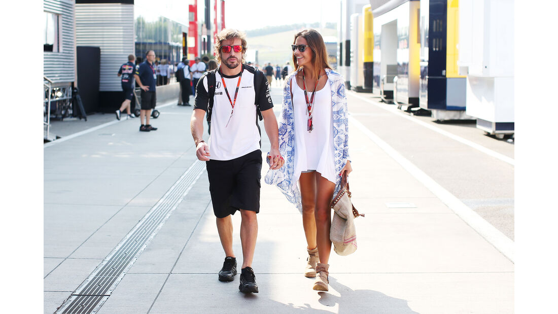 Lara Alvarez & Fernando Alonso