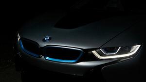 Laserlicht, BMW i8, Heckpartie