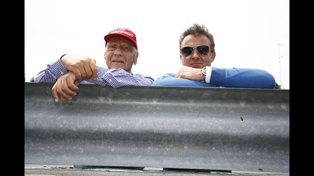 Lauda & Alesi - GP Kanada 2015