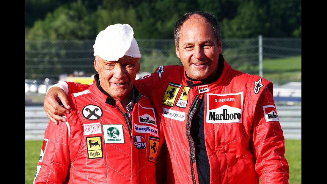 Lauda & Berger - GP Österreich 2014 - Legenden