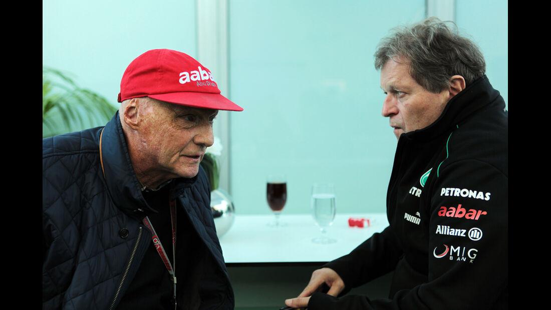 Lauda & Haug - Formel 1 - GP USA - Austin - 17. November 2012