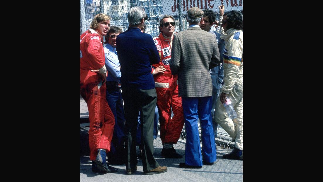 Lauda, Hunt, Ecclestone - F1 - GP Deutschland 2000 - Hockenheimring