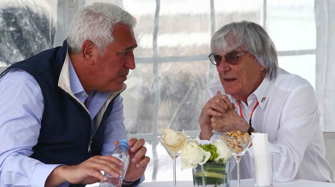 Lawrence Stroll & Bernie Ecclestone