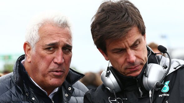 Lawrence Stroll & Toto Wolff