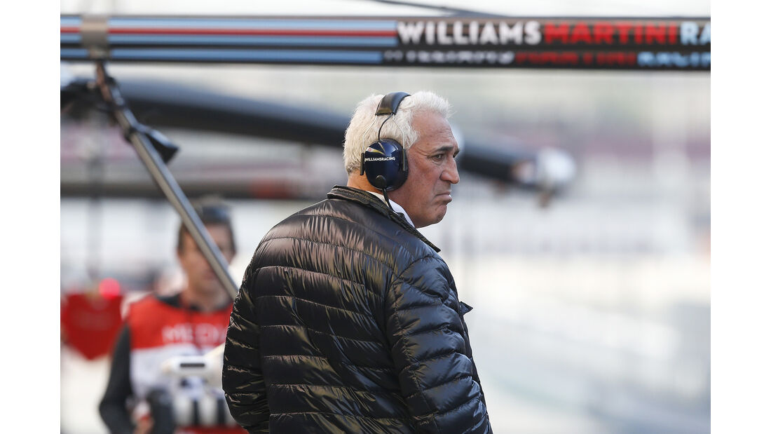 Lawrence Stroll - Williams - Formel 1 - Test - Barcelona - 10. März 2017