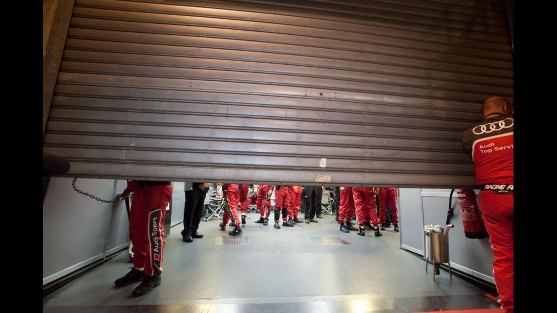 Le Mans 2011 Audi-Box
