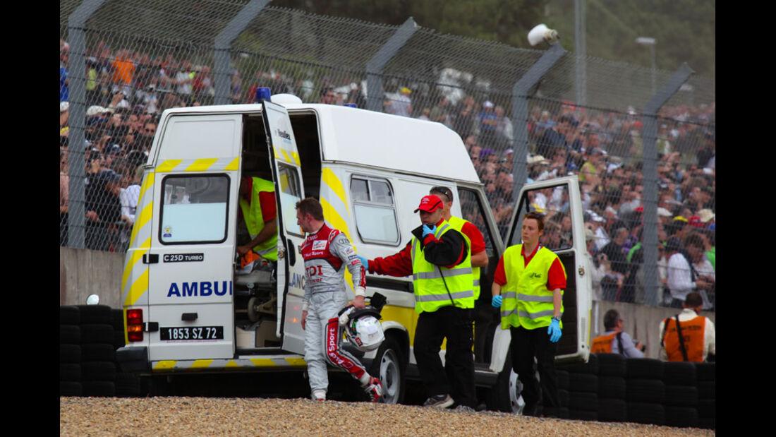 Le Mans 2011 Crash McNish