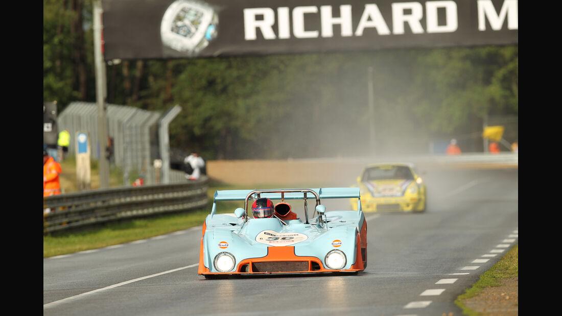 Le Mans Classic, Gulf, Mirage, Rennszene
