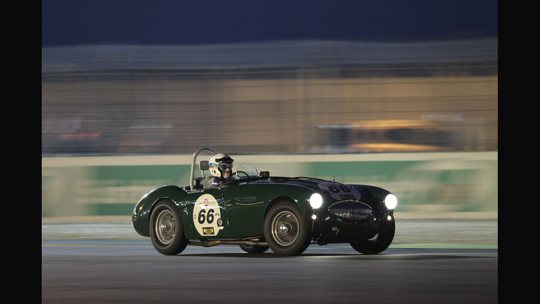 Le Mans Classic, Rennszene