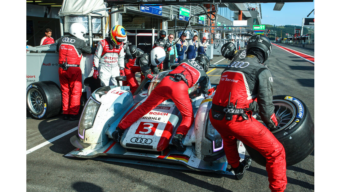 Le Mans, LMP1-Klasse, Radwechsel