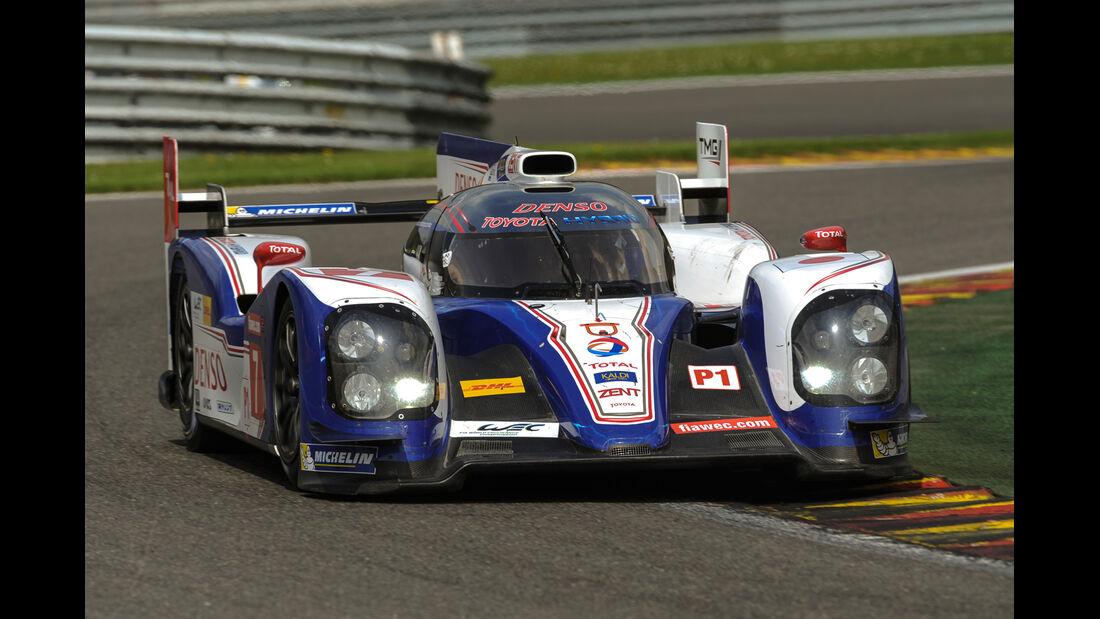 Le Mans, LMP1-Klasse, Toyota
