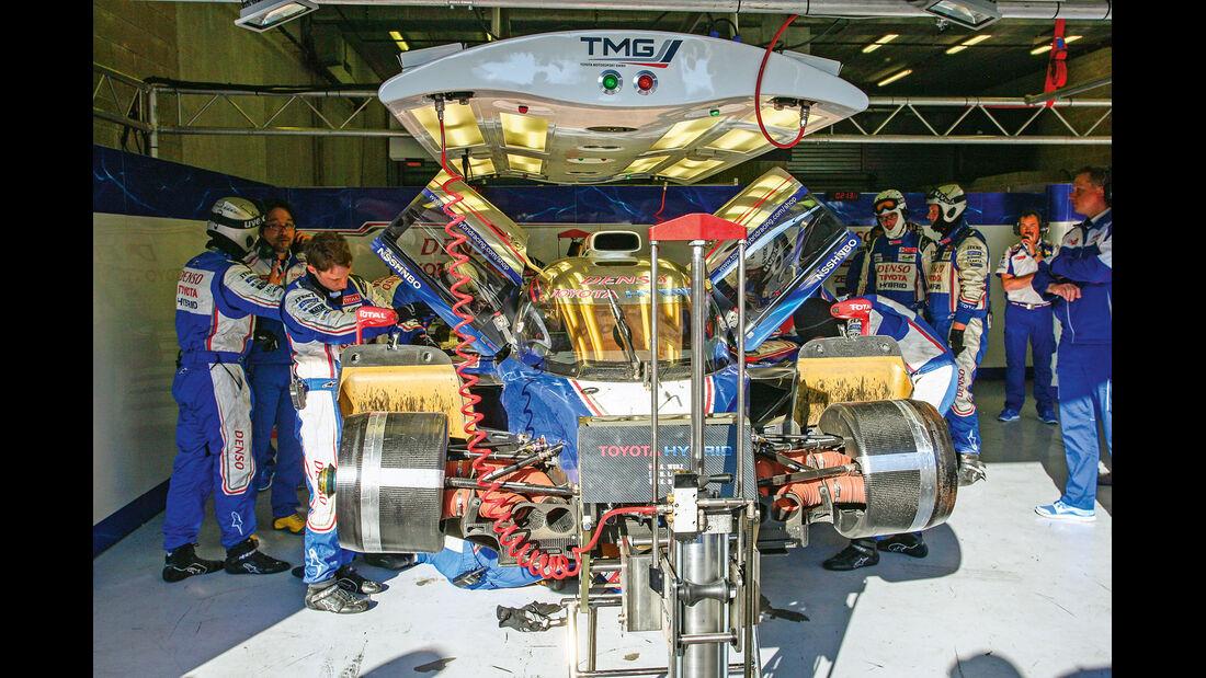 Le Mans, LMP1-Klasse, Toyota, Box
